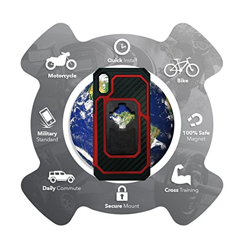 Rokform Fuzion Pro Series [iPhone X/XS] Protective Aluminum & Carbon Fiber Magnetic case with Twist Lock Insert Included (Red) by Rokform (Image #5)