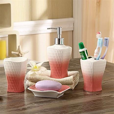 Conjunto de baño,juego de accesorios de baño,el baño lavar Set porcelana sanitaria