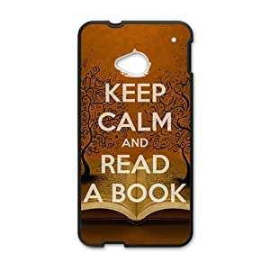 Happy Book World Cell Phone Case for HTC One M7
