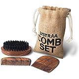 Ustraa Beard Comb Set, 3 Pieces