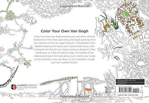 Counting Number worksheets math addition coloring worksheets : Color Your Own Van Gogh: Van Gogh Museum Amsterdam: 9780062436429 ...