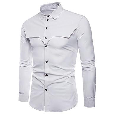 T-Shirts Camicia Formale Uomo