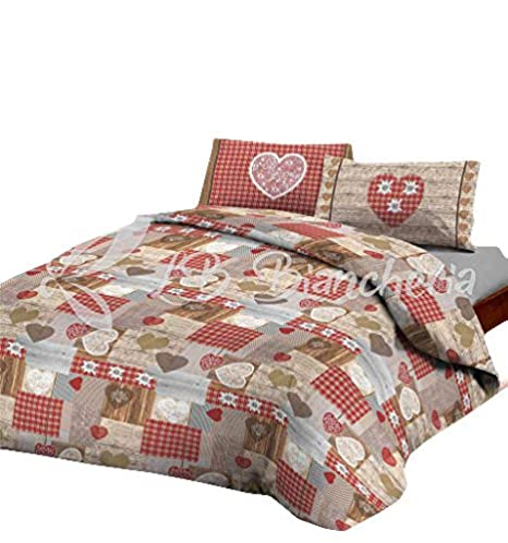 Copripiumino Matrimoniale Country.Daunex Duvet Cover Chalet Tyrolean Country Chic Precious