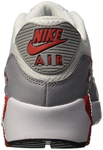 the best attitude 41f6e e323c ... Nike Air Max 90 Mesh GS 833418-100 Kinder, Weiß Elfenbein (White  ...