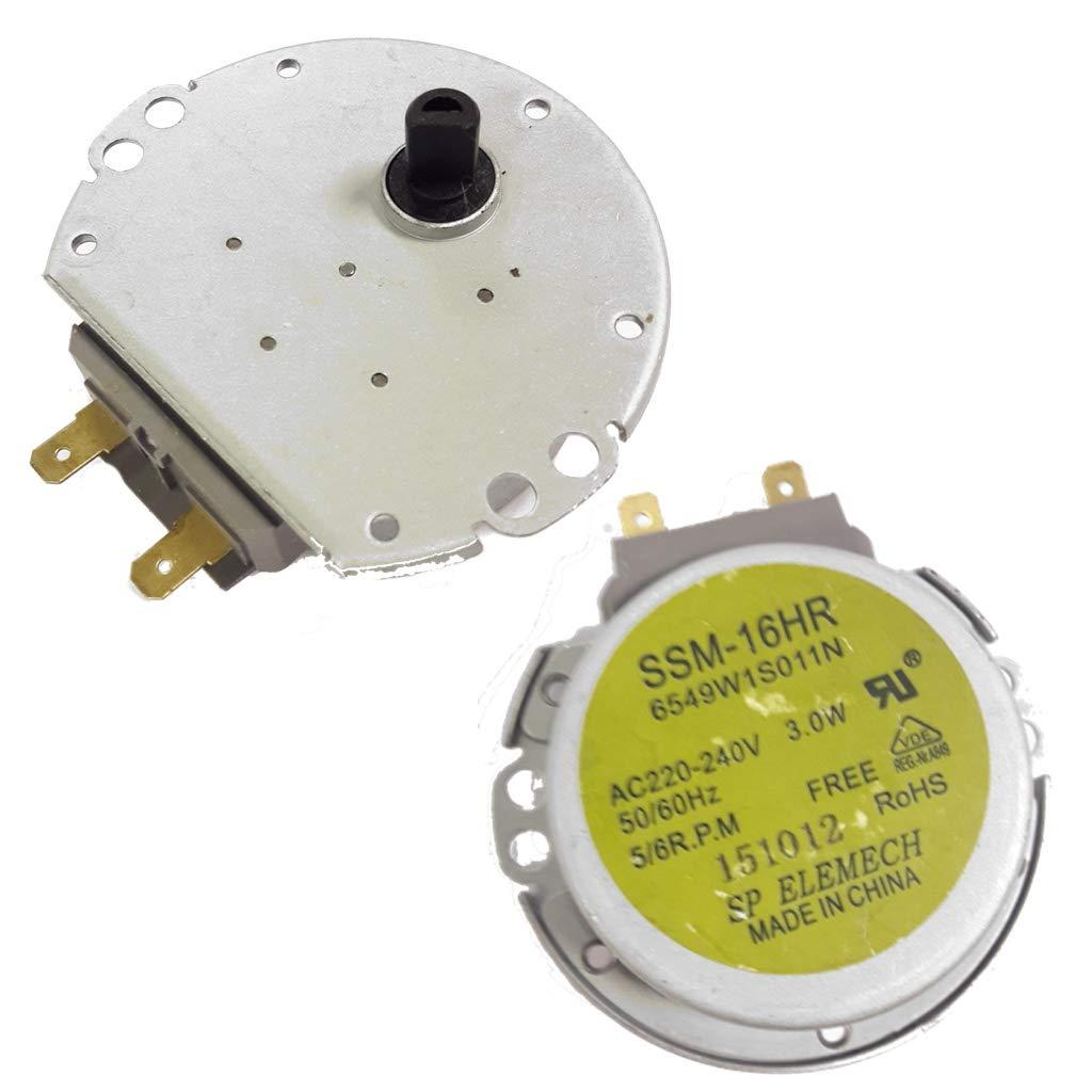 motor horno microondas 5/6RPM SSM-16HR 6549W1S011N: Amazon ...