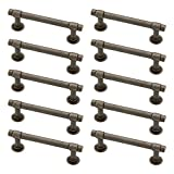 Franklin Brass P29520K-WCN-B Warm Chestnut 3-Inch Francisco Kitchen or Furniture Cabinet Hardware Drawer Handle Pull, 10 pack