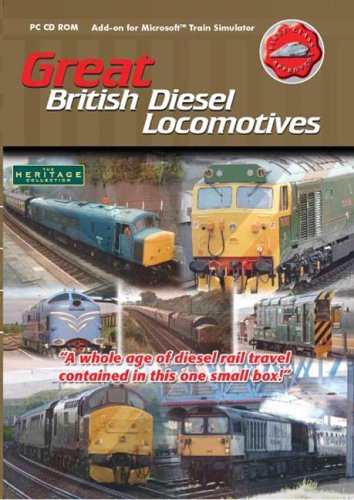 Great British Diesel Locomotives (PC CD) - Stock Coach Usa