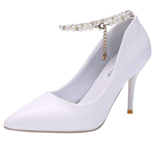 81141935d9d Zapatos Tacón de Altas Aguja para Mujer Invierno Primavera 2019 PAOLIAN  Calzado Fiesta Elegantes Boda Zapatos