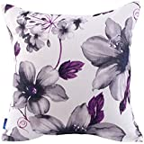 Better Life Cushion Pillow Cover, 18 Inch By 18 Inch, Purple