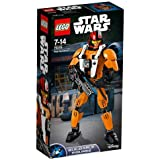 LEGO Star Wars Buildable Figures 75115 - Poe Dameron, 7-14 Anni