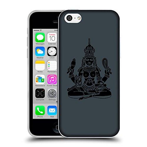 GoGoMobile Coque de Protection TPU Silicone Case pour // Q08130606 Hindou 4 Arsenic // Apple iPhone 5C