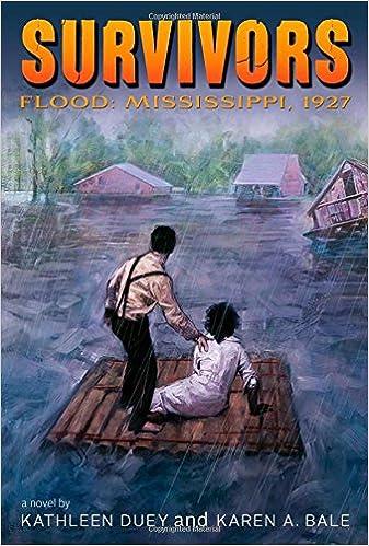 flood mississippi 1927 survivors kathleen duey karen a bale 9781481416429 amazon com books