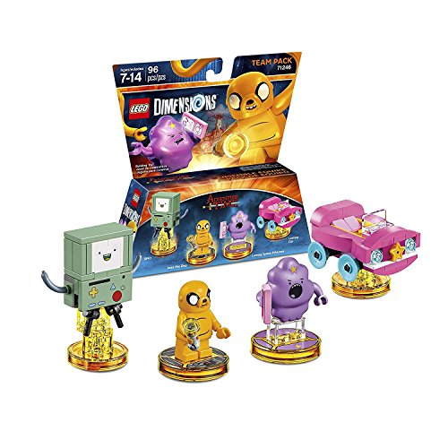 Lego Dimensions Starter Pack + Adventure Time Finn The Human Level Pack + Jake The Dog Team Pack + Marceline The Vampire Queen Fun Pack for Playstation 3 or PS3 Slim Console by WB Lego (Image #3)