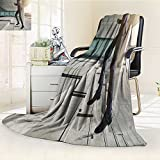 DOLLAR Blanket,businessman running fast upstairs horizontal outdoors shot Traveling, Hiking, Camping, Full Queen, TV, Cabin, Couch, Bed Throw(60''x 50'')