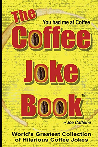 The COFFEE JOKE BOOK: World's Greatest Collection of Coffee Jokes | NEW COMEDY TRAILERS | ComedyTrailers.com