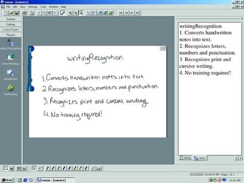 Mimio Writingrecognition 2 0 Cd Ocr Software For Mimio Flipchart Amazon De Software
