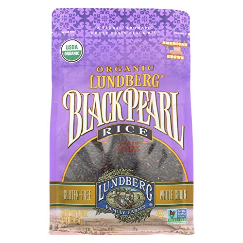 LUNDBERG Family Farms, Black Pearl Rice, OG2 - Pack of 6