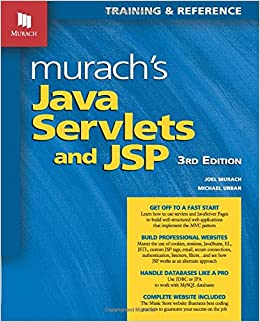 Murach's Java Servlets And JSP, 3rd Edition (Murach: Training & Reference) Books Pdf File