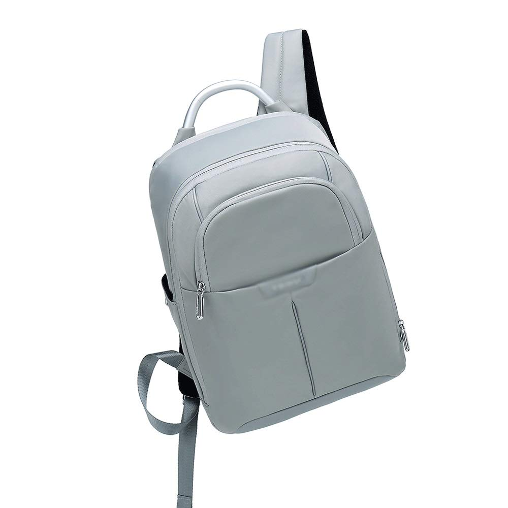 XUEYAQI- 登山、キャンバス、キャンプ、防水、アウトドアトラベルバッグ、メンズバッグ(グレー) (Color : Gray) B07T4ZZVBF Gray