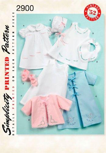 Simplicity Sewing Pattern 2900 Crafts, A (XXS-XS-S-M-L)