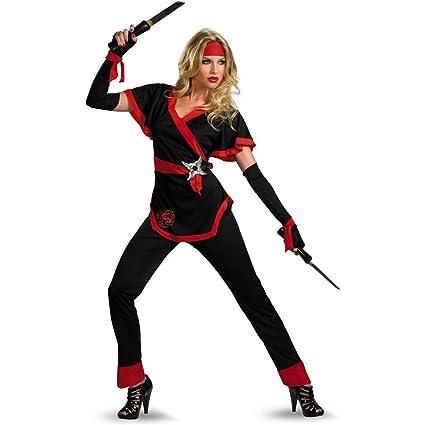 Amazon.com: Disfraz de ninja dragón para mujer, de ...