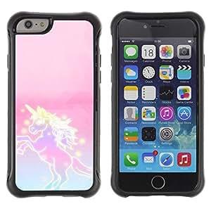 Hypernova Defender Series TPU protection Cas Case Coque pour Apple Iphone 6 PLUS 5.5 [Rose Violet magique filles Fantaisie]