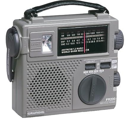 amazon com grundig fr200 emergency radio discontinued by rh amazon com Grundig FR200 Model Grundig FR200 Model