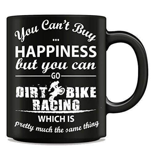 Funny Dirt Bike Racer Tasse