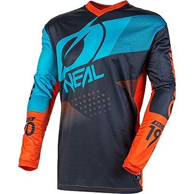 O'Neal E001-264  Element Racewear Child Jersey (Gray/Orange/Blue, L): Automotive