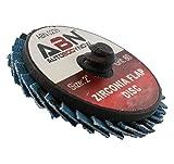 ABN 2in T27 80 Grit High Density Zirconia Alumina