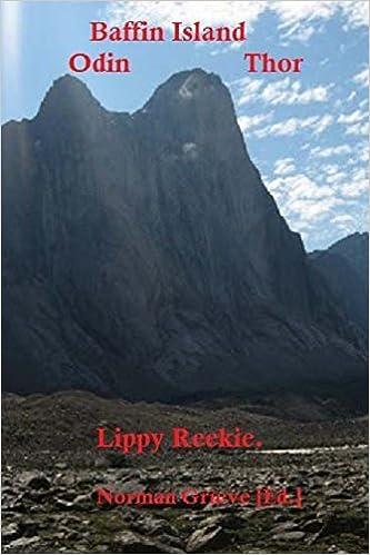 Baffin Island:: Odin & Thor. by Lippy Reekie (2015-11-21)