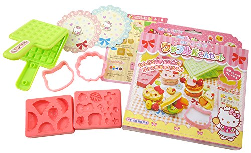 The HELLO KITTY waffle store (japan import)