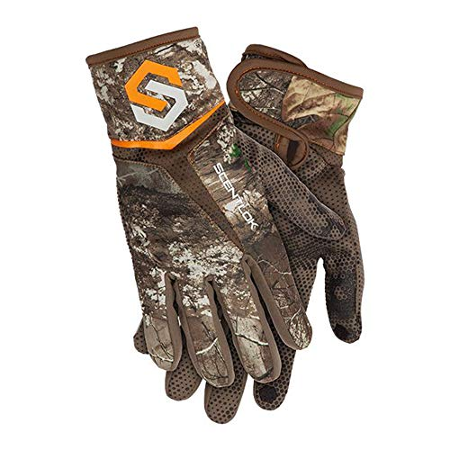 ScentLok Full Season Bow Release Glove (Realtree Edge, Medium) (Best Bow Release For Hunting)