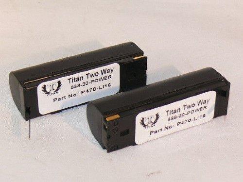 2X 3.6V Battery for Symbol 50-14000-145 SM470i SYM360 P360 P370 Barcode Scanner
