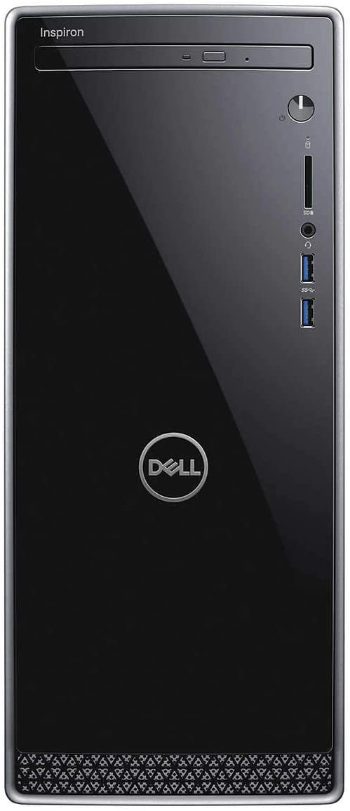2019 Newest Dell Inspiron Premium Desktop Tower: Latest 9th gen Intel Six-Core i5-9400, 12GB Ram, 256GB SSD + 1TB HDD Dual Drive, WiFi, Bluetooth, DVDRW, HDMI, VGA, Windows 10 Home