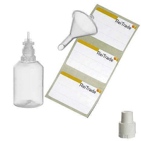ReiTrade 11 x 30 ML LDPE - Botellas de compresión + ...