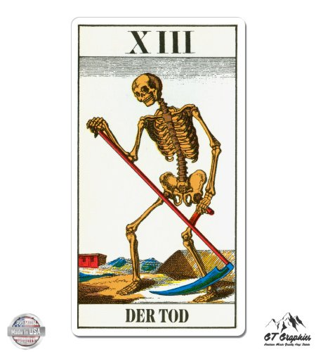 GT Graphics Death Tarot Card XIII Der Tod - 5