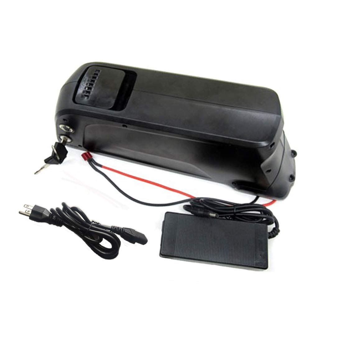 SunB-Dolphin01 48V 11.6AH E-Bike Battery with Panasonic 2900MAH Batteries + BMS + Charger
