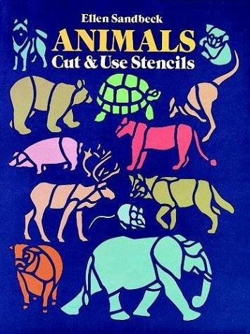 Animals Cut & Use Stencils