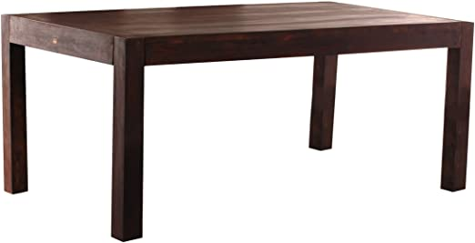 Sam Rosewood Wales 1514 140 Cm X 90 Cm Dining Room Table Dark Dining Table Made From Solid Rosewood Dining Room Table Solid Sheesham Wood Stained And Oiled Amazon De Kuche Haushalt