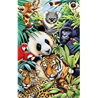 SUNSOUT INC Animal Magic 100 pc Jigsaw Puzzle