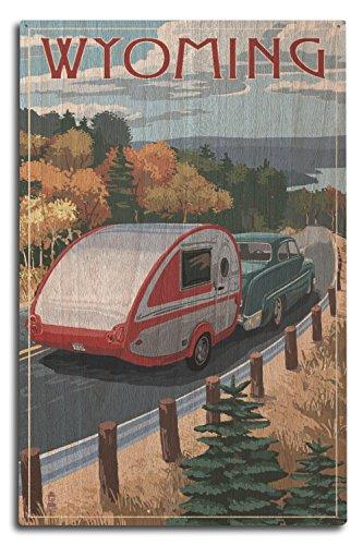 camper birch wall art - 1