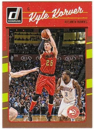 2016-17 PANINI DONRUSS Basket Jimmie #38 Kyle Korver