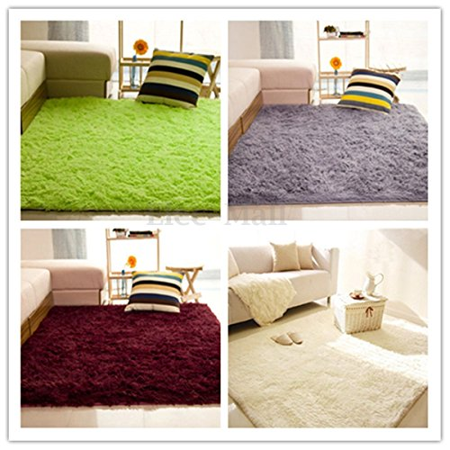 Fluffy Rugs Anti-Skid Shaggy Area Rug Di - Chevelle Wood Shopping Results