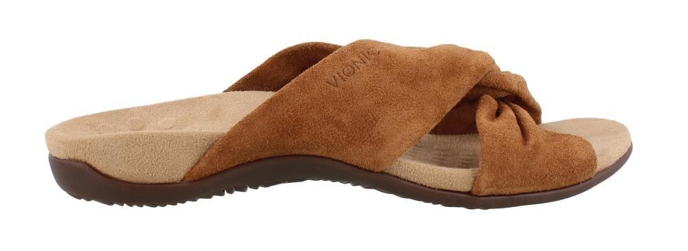 Vionic Women's Shelley Slide Sandal B078WGN2X4 8.5 B(M) US|Toffee