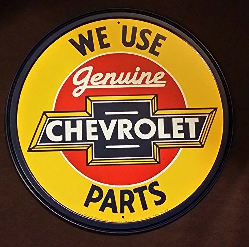 chevrolet-chevy-genuine-parts-round-retro-vintage-tin-sign