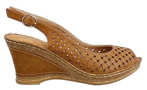 Women's Candace Sandal Slingback Tan Patrizia xq6pXff