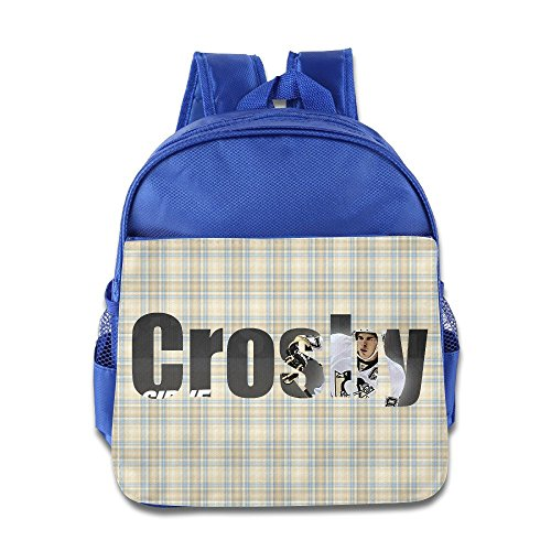 [VOLTE Hockey Player RoyalBlue Backpack Bag For Children School Travel Schoolbag] (Hockey Stanley Cup Costume)