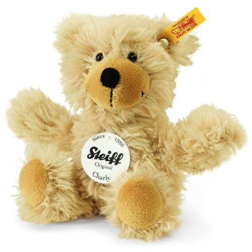 Steiff Charly Dangling Teddy Bear Plush, Beige, (Charly Dangling Teddy)