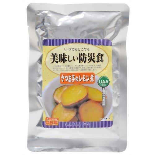 美味しい防災食 さつま芋のレモン煮 /62-3137-09 B00IMKM3AK